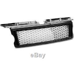 HAWKE Range Rover Sport Calandre HST Noir avec Chrome Filet
