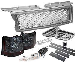 HAWKE Range Rover Sport Gris & Argent HS-T Paquet Calandre Ventilation HST