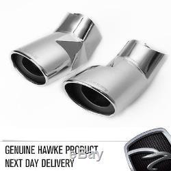 HAWKE Échappement Chrome Embout Pour Range Rover Sport 05-09 ARRIÈRE EN STOCK