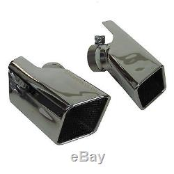 HST Exhaust tips for Range Rover SPORT supercharged Diesel tailpipe stormer