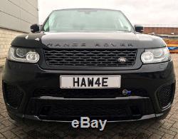 Hawke Range Rover Sport l494 NOIR BRILLANT SVR pièces de rechange Grille GRATUIT