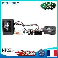 Interface commande au volant CTSLR009.2 pour Range Rover Sport, Discovery 04-09
