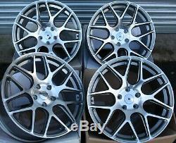 Jantes en Alliage X4 19 Gmf Mesh pour BMW X1 E84 X3 E83 F25 4x F26 X5 E53