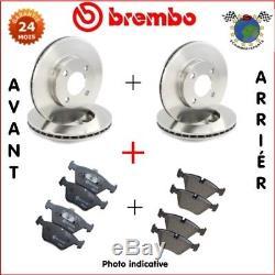 Kit complet disques et plaquettes avant + arrière Brembo LAND ROVER RANGE RO btr