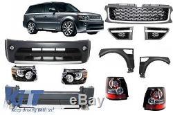 Kits Carrosserie Land Range Rover Sport L320 Autobiography Look 05-10 Noir Gris