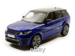Kyosho 1/18 Land Rover Range Rover Sport Svr 9542bl