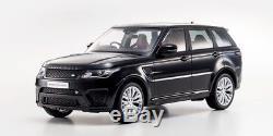 Kyosho 118 Range Rover Sport Svr 2016 Noir 9542bk Neuf / Bnib