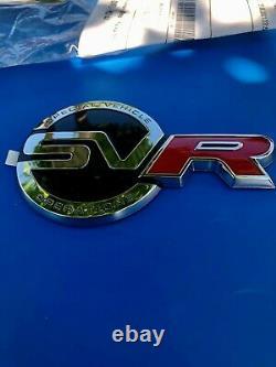 LOGO coffre SVR SV-R RANGE ROVER Defender Freelander Freeland VELAR ORIGINAL