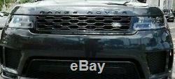 Land Rover Neuf Range Rover Sport L494 2018+ OEM Noir Brillant avant Grille Neuf