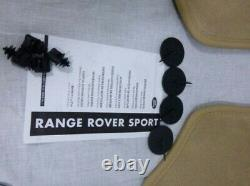 Land Rover OEM Range Rover Sport Alpaga Léger Beige OEM Moquette Tapis 2006-2013
