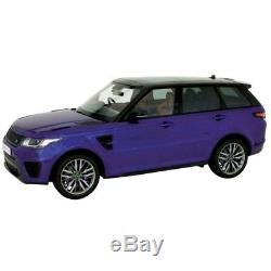 Land Rover Range Rover Sport SVR Blue 1/18 9542BL KYOSHO