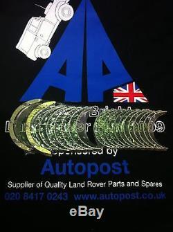 Land Rover TDV6 2.7 principal et coussinets de bielle Taille STD NEUF King
