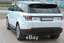 Marchepieds Range Rover Sport à partir de L'Année 2013 Modèle Hitit Noir