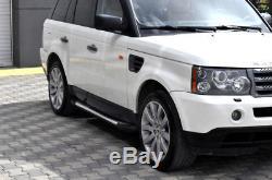 Marchepieds compatible avec Land Rover Range TÜV & ABE Aluminium SEUIL NEUF