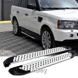 Marchepieds pour Land Rover Range Année Fab. 2005-2013 Contrôle Technique Tüv &
