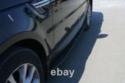 Marchepieds pour pour Range Rover Vogue L405 Sport L494 2014+ Side Steps Noir