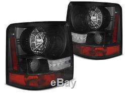 NEUF! Feux Arrière pour Land Rover Range Rover SPORT 2005-2009 Noir LED FR LDLR1