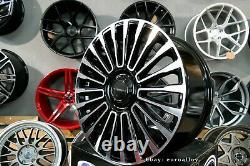 Neuf 21 inch 5x120 mansory style Noir Roues Pour Land Range Rover Sport Defender