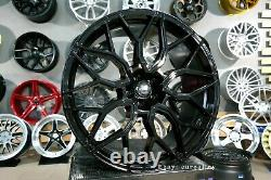Neuf 4x 23 inch 5x120 HF-2 Style Noir Roues Alliage Pour Land Rover Range Sport