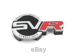 Neuf D'Origine Range Rover Svr Logo Calandre avant Emblème pour Sport L494