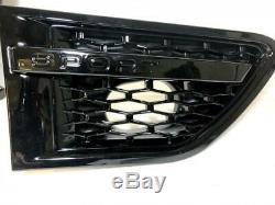Noir Brillant Avant Grille & Côté Prise Maille Range Rover Sport L320 2010-13