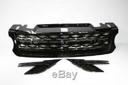 Noir Brillant Grille Dynamique Extension pour Range Rover Sport 2013-18 L494