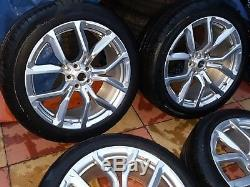 ORIGINAL Range Rover Sport SVR 22 JANTES ALU & Pneumatiques Continental 295 40