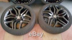 Original Range Rover Sport L494 22 Style 17/508 Noir Jantes Alu & Pneumatiques