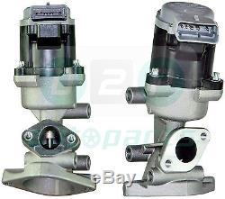 Paire de EGR VALVES lr018324-23 pour Land Rover Discovery & Range 2.7 TDVM