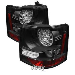 Pays Rover 06-09 Range Rover Sport Noir LED Arrière Queue Feux Frein Lampe Set