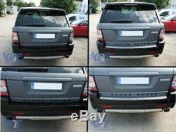 Plaque protection pare-chocs aluminium coffre hayon pour Sport L320 2005-2013