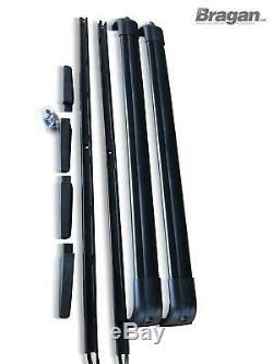 Pour 2005 2013 Land Rover Range Rover Sport Aluminum Toit Rail + Cross Barres
