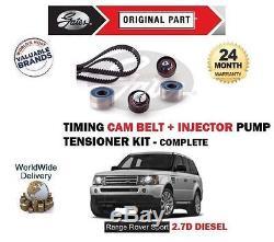 Pour Range Rover Sport 2.7td 05-09 Courroie De Distribution+injecteur