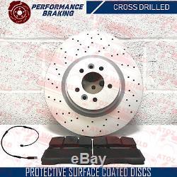 Pour Range Rover Sport 3.6 TDV8 AVANT PERFORMANCE DISQUES DE FREIN platine