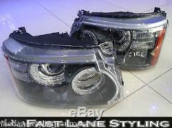 RANGE ROVER SPORT 2010 AUTOBIOGRAPHY CONVERSION LED FRONT HEADLIGHTS 10RSLEDHL
