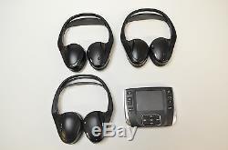 RANGE ROVER SPORT 2013 RHD DVD Télécommande avec x 3 écouteurs aw93-19c057-ac