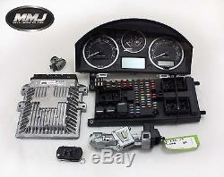 Range Rover Sport & Discovery 3 Clé Contacteur Set Ecu Boitier Fusible Compteur