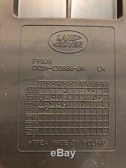 RANGE ROVER SPORT L494 Set Rubber footwell mats & Loadspace