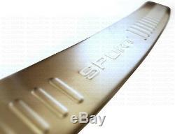 REAR CHROME BUMPER PLATE PROTECTION for RANGE ROVER SPORT 2005-13 HSE TDV8 TDV6