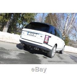 Range Rover 4 Mk 4.4 Td V8 le Sport Échappement Duplex Chaque 2x90 mm de Fox
