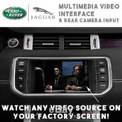 Range Rover Evoque Sport JAGUAR XF Multimedia vidéo Interface + Voiture Caméra