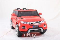 Range Rover HSE Sport rouge, voiture électrique enfant 12V-2 moteurs