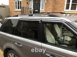 Range Rover Sport 2005-2013 barres de toit en aluminium galerie de toit Noir