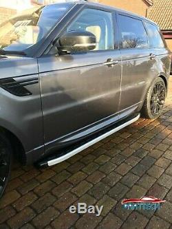 Range Rover Sport 2013+ MARCHEPIEDS EN ALUMINIUM Marche-Pieds BARRES LATÉRALES