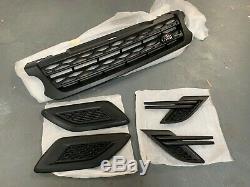 Range Rover Sport 2014-17 Véritable Stealth Satin Noir Grille Set 5 Kit