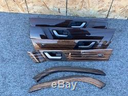 Range Rover Sport 4.2 L320 (06-09) Complet Bois Garniture Panneau Console Oem