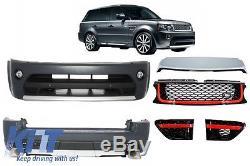 Range Rover Sport Autobiography Facelift Kit Complets Parechoc Grille Noir/Rouje