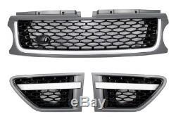 Range Rover Sport Autobiography Facelift Kit carrosserie Pare-chocs Grise/Noir