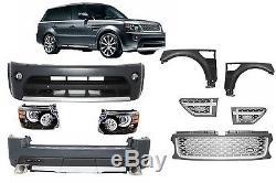 Range Rover Sport Autobiography Facelift Kit carrosserie Pare-chocs + Phares