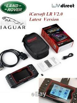 Range Rover Sport Diagnostic Lecteur Code Erreur Icarsoft LR V2.0 ABS Srs